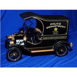 Franklin Mint  Vintage Ford Model T Police Wagon