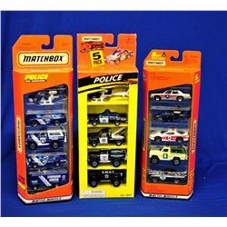Box Lot Matchbox Police Vehicles 1:64 Scale