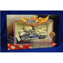 Diecast Police Motorcycles 1:10 Scale