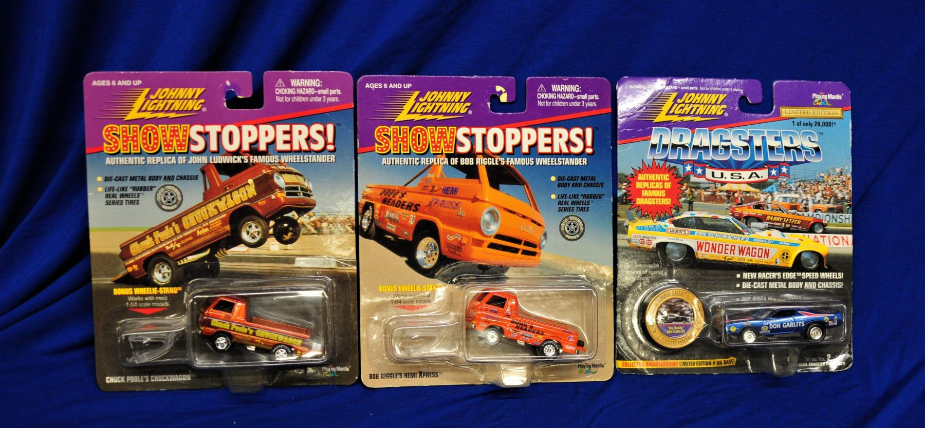 Johnny Lightning Drag Cars