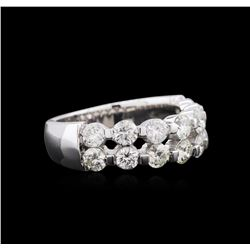 1.23 ctw Diamond Ring - 14KT White Gold