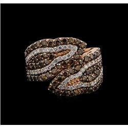 14KT Rose Gold 1.84 ctw Diamond Ring