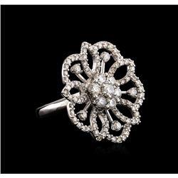 14KT White Gold 1.70 ctw Diamond Ring