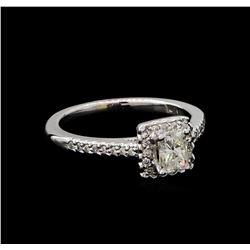 0.69 ctw Diamond Ring - 14KT White Gold