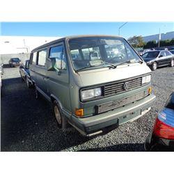 VW VANAGON 1988 T-DONATION