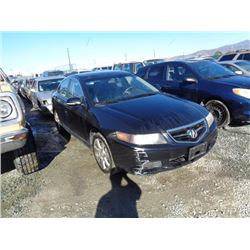 ACURA TSX 2005 APP  DUP/T-DON