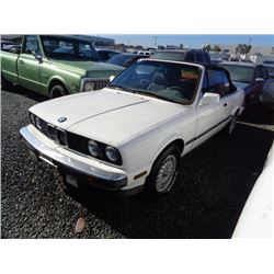 BMW 3SERIES 1987 O/S T-DONATION