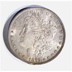 1879 MORGAN DOLLAR, CH BU