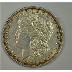 1895-O MORGAN DOLLAR, AU KEY DATE
