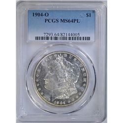 1904-O MORGAN DOLLAR PCGS MS64PL