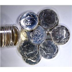 BU ROLL OF 1967 SMS  KENNEDY HALF DOLLARS