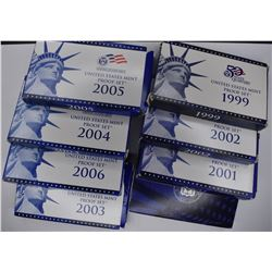 8 - U.S. MINT PROOF SETS: