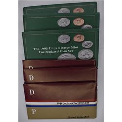 16 - U.S. MINT UNCIRCULATED COIN SETS: