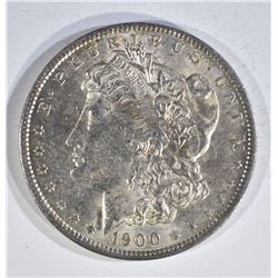 1900-O MORGAN DOLLAR, CH BU BETTER DATE