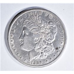 1889-CC MORGAN DOLLAR, XF/AU KEY DATE