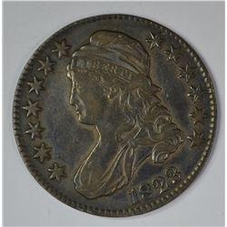 1823 BUST HALF DOLLAR, XF NICE!!