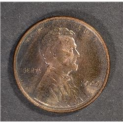 1909 VDB LINCOLN CENT, GEM BU