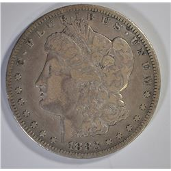 1883-CC MORGAN DOLLAR, VF
