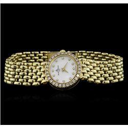 Baume & Mercier 14KT Yellow Gold Diamond Ladies Watch