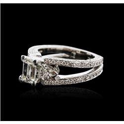 18KT White Gold 2.73 ctw Diamond Ring