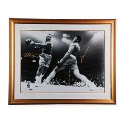 """Muhammad Ali vs. Joe Frazier"" autographed Poster"