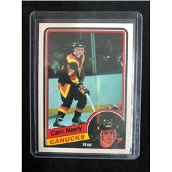 1984-85 O-Pee-Chee #327 CAM NEELY Rookie Card