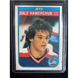 1982-83 O-Pee-Chee #380 Dale Hawerchuck Rookie Card