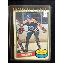 1980-81 O-Pee-Chee #289 Mark Messier Rookie Card
