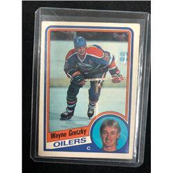 Wayne Gretzky 1984-85 O-PEE-CHEE Hockey #243