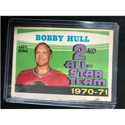 1971-72 O-Pee-Chee Hockey #261 Bobby Hull 2nd Team All Star