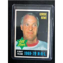 GORDIE HOWE 1970-71 O-PEE-CHEE #238 FIRST TEAM ALL STAR