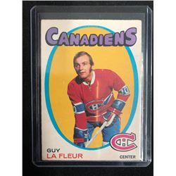 1971-72 O-Pee-Chee Hockey Card #148 Guy Lafleur RC
