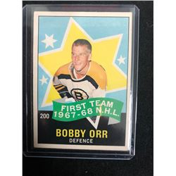 1968 O-PEE-CHEE #200 BOBBY ORR ALL-STAR