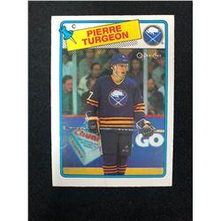 1988-89 Topps #194 Pierre Turgeon Rookie Card