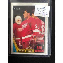 1987-88 O-Pee-Chee Adam Oates Rookie Card #123