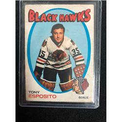 1971-72 O-Pee-Chee #110 Tony Esposito (Chicago Blackhawks)