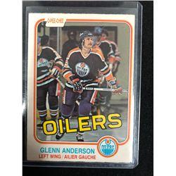 1981-82 OPC Glenn Anderson RC #108 Edmonton Oilers
