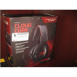 HYPERX CLOUD CORE HEADPHONES