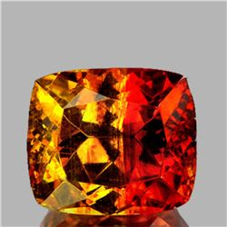 Natural Extremely Rare BiColor Yellow Orange Sphalerite