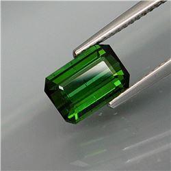 Natural Top Green Tourmaline 1.92 Ct