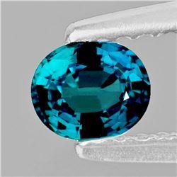 Natural Greenish Blue Madagascar Sapphire Flawless