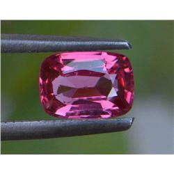 Natural Cushion Burma Pink Spinel 1.01 Ct - VVS