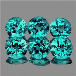 Natural Paraiba Blue/Green Apatite 4.50 MM {VVS}