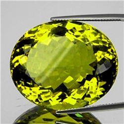 Natural Green Gold Lemon Quartz 71.53 Cts - FL