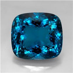 London Blue Topaz 25.76 carats - VVS
