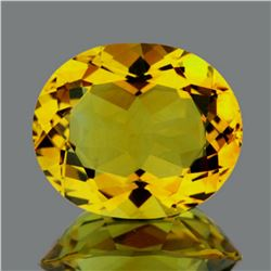 Natural Whisky Golden Yellow Citrine  10.67 Ct - FL