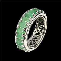 Natural Columbian Emerald 36.66 Ct Ring