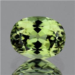 Natural Canary Green Apatite 3.18 Cts - FL