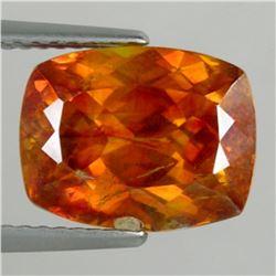 Natural Stunning Cushion Orange Spahlerite 7.35 Carats