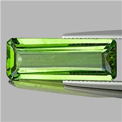 Natural Canary Green Apatite 23x8 MM - VVS